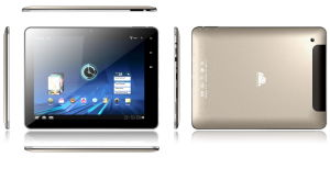Android 4.0, 9.7′′Capacitive Multi Touch Screen, CPU 1.5g+1g DDR3+8g HD, Bluetooth, 3G Phone Call, Bluetooth, 6000mAh Battry