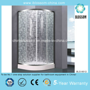 Competitive Acid Glass Simple Shower Room Shower Cabin (BLS-9512) pictures & photos
