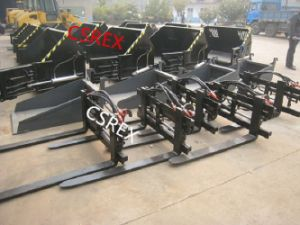 CS Loader Hydraulic Forks for CE Wheel Loaders From China pictures & photos