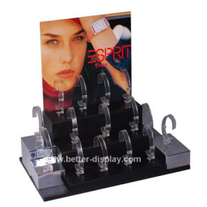 Acrylic Countertop Watch Display Rack Btr-F1005 pictures & photos