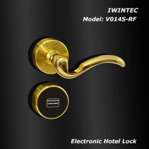 Electronic Lock for Hotel Door (V6014S-RF) pictures & photos