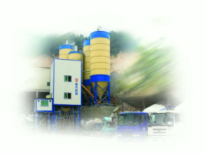 High-Speed Railway Concrete Mixer Batching Plants (HZS150)