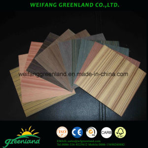 Natural Veneer Plywood for Furniture with Sapele Film, Cherry Film, Oak Film, Walnut Film, Teak Film pictures & photos