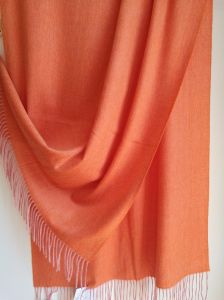 Cashmere Mealange Light Shawl Brushed pictures & photos