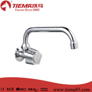 Zinc Wall Kitchen Faucet (ZS1802A) pictures & photos