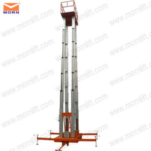 20m Mobile Hydraulic Vertical Used Man Lifts for Sale pictures & photos