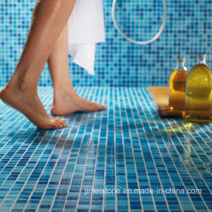 Blue Marble Mosaic for Swimming Pool/Flooring Tile/Bathroom/Outdoor pictures & photos