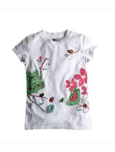 Round Neck T-Shirts/ New Fashion 100% Cotton Round Neck T-Shirts (RNTS-13)