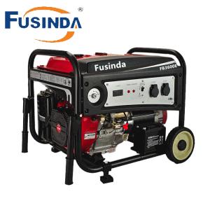 Fusinda Fb3600 3kVA Gasoline Petrol Generator pictures & photos