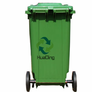 120L Pedal Plastic Trash Bin for Outdoor pictures & photos