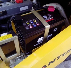 Heli Forklift Battery 48V pictures & photos