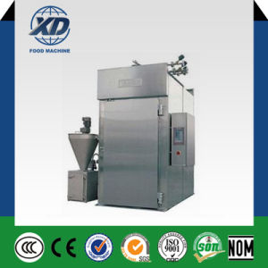 Automatic Chicken Meat Sausage Smoking Machine pictures & photos