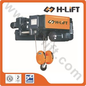 Low Headroon Electric Wire Rope Hoist with Adjustable Gauge (WHL-D) pictures & photos