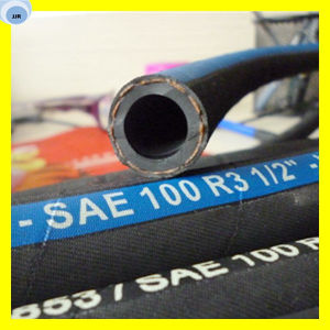Hydraulic Oil Hose Fibre Reinforce Rubber Hose pictures & photos