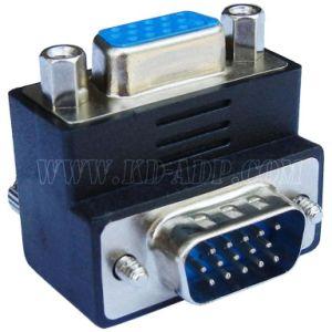Right Angle VGA to VGA Cable Adapter