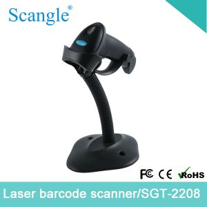 1d Barcode Label Scanner Barcode Reader with Stand and High Speed pictures & photos