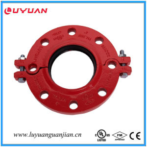 UL Listed, FM Approved, Ductile Iron Grooved Flange pictures & photos