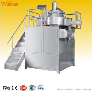 High Shear Wet Mixer Granulator Pharmaceutical Machinery with GMP FDA and Ce