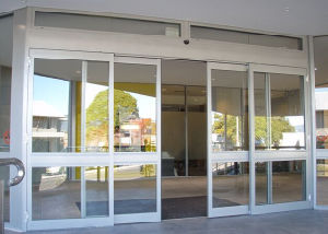Automatic Sliding Doors with 120kg Glass (DS100) pictures & photos