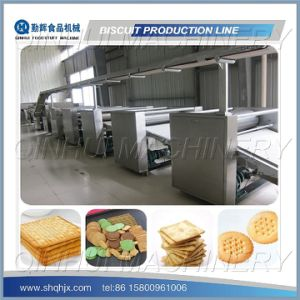 Complete Full Automatic Chocolate Sandwiching Biscuit Machine (QH280-1500) pictures & photos