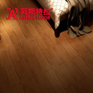 Waterproof AC3/AC4 HDF Mirror Surface Laminate Flooring (AD312) pictures & photos