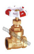Brass Screwed Gate Valve with Cast Iron Hand Wheel pictures & photos