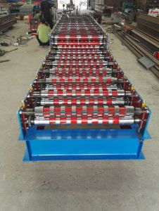 Cold Roller Shutter Door Roll Forming Making Machine for Sale pictures & photos