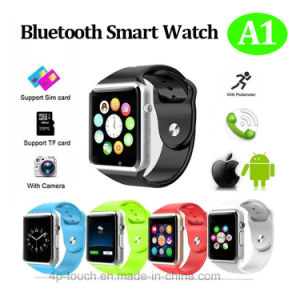 Cheapest Smart Watch Phone with SIM Card Slot for Android A1 pictures & photos
