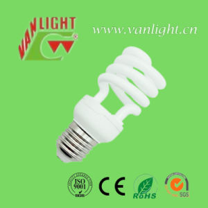 Half Spiral T2 15W CFL Bulbs Energy Saving Lamps pictures & photos