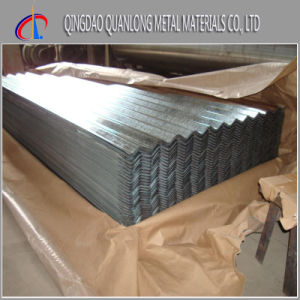 Galvalume Corrugated Roofing Sheet with Small Big Normal Spangle pictures & photos