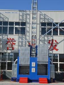 Safety Passenger Hoist /Double Cage, Construction Site Passenger Hoist pictures & photos