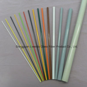 Flexible Fiberglass Pultruded FRP Round Bar with Light Weight