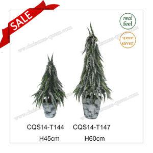 H45-80cm Plastic Table Pot Flower Artificial Plant Christmas Tree pictures & photos