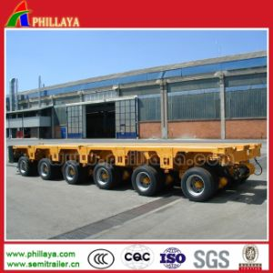 Transport Heavy Equipment Hydraulic Modular Semi Trailer pictures & photos