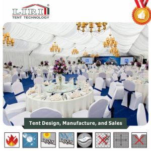 20m Custom Mixed Structure Tent with Big High Peak Roof Tents for Hotel Party Wedding pictures & photos