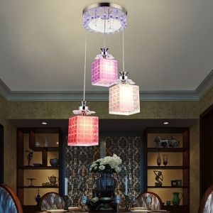 Grace 3 Lights Crystal Pendant Lamp LED Chandelier (GD-1108-3) pictures & photos
