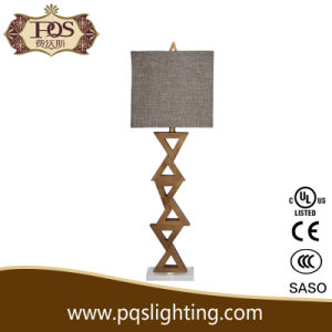 Polyresin and Crystal Paint Gold Color Lamp Base
