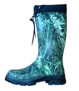 Camouflage Hunting Boots with Collar pictures & photos