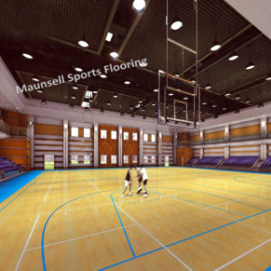 China Factory Sale PVC Sports Roll/Interlock Floor for Basketball pictures & photos