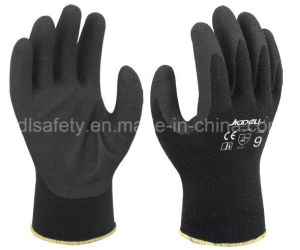 Cotton Work Glove with Sandy Nitrile Dipping (N1585) pictures & photos