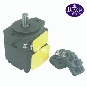Yuken PV2r1-19-F-Rab-4128 21 MPa 18.6 Cm³ /Rev Hydraulic Vane Pump pictures & photos