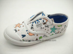 Cva Style Cute Injection Canvas Kids Shoes (ET-AL160194K)
