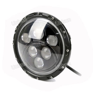 12V 7inch 60W CREE LED Truck Headlight with Angel Eye pictures & photos