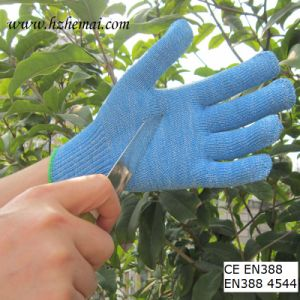 Hppe Gloves Food Industry Gloves Anti Cut Kitchen Work Glove pictures & photos