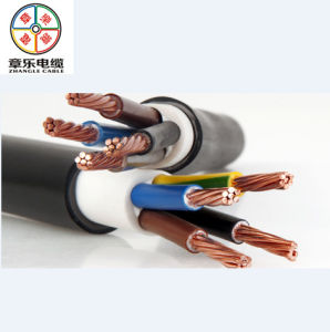 XLPE Insulation, PVC Sheathed Electric Power Cable 5*35mm2