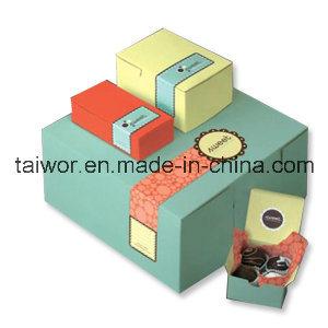 Taiwor High Elegant Custom Logo Printed Cardboard Cufflink Box