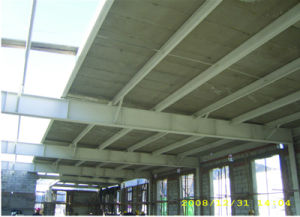 Heat Insulation Clc Foam Concrete Wallboard