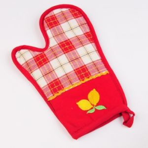 Heat Resistant Cotton Kitchen Oven Glove pictures & photos