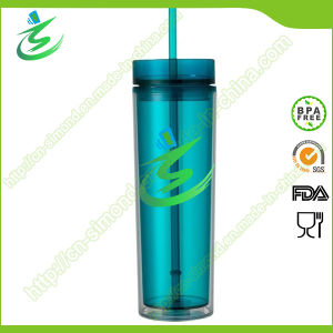 16 Oz BPA-Free Acrylic Cup with Straw, as Cup pictures & photos