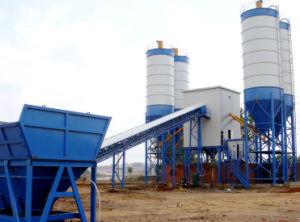 Hzs90 Fixed Concrete Batching Plant pictures & photos